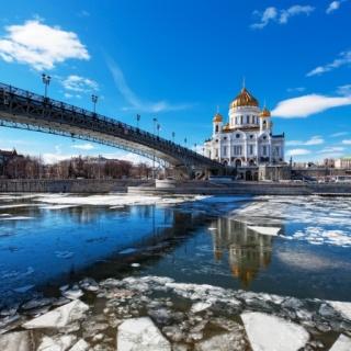 В Москве лето