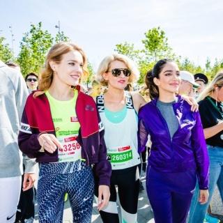 В Москве прошёл марафон «Бегущие сердца»