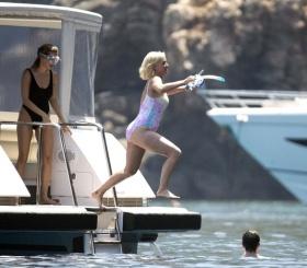 Орландо Блум и Кэти Перри весело проводят отпуск (фото)