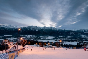 Зима в Польше