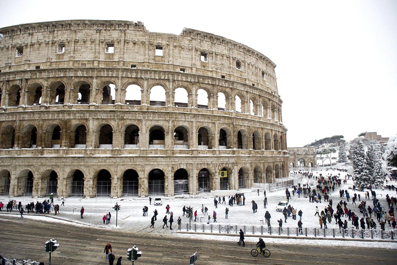 В Италии выпал снег - Радио Romantika