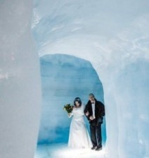 В Исландии свадебная церемония прошла внутри ледника - Радио Romantika