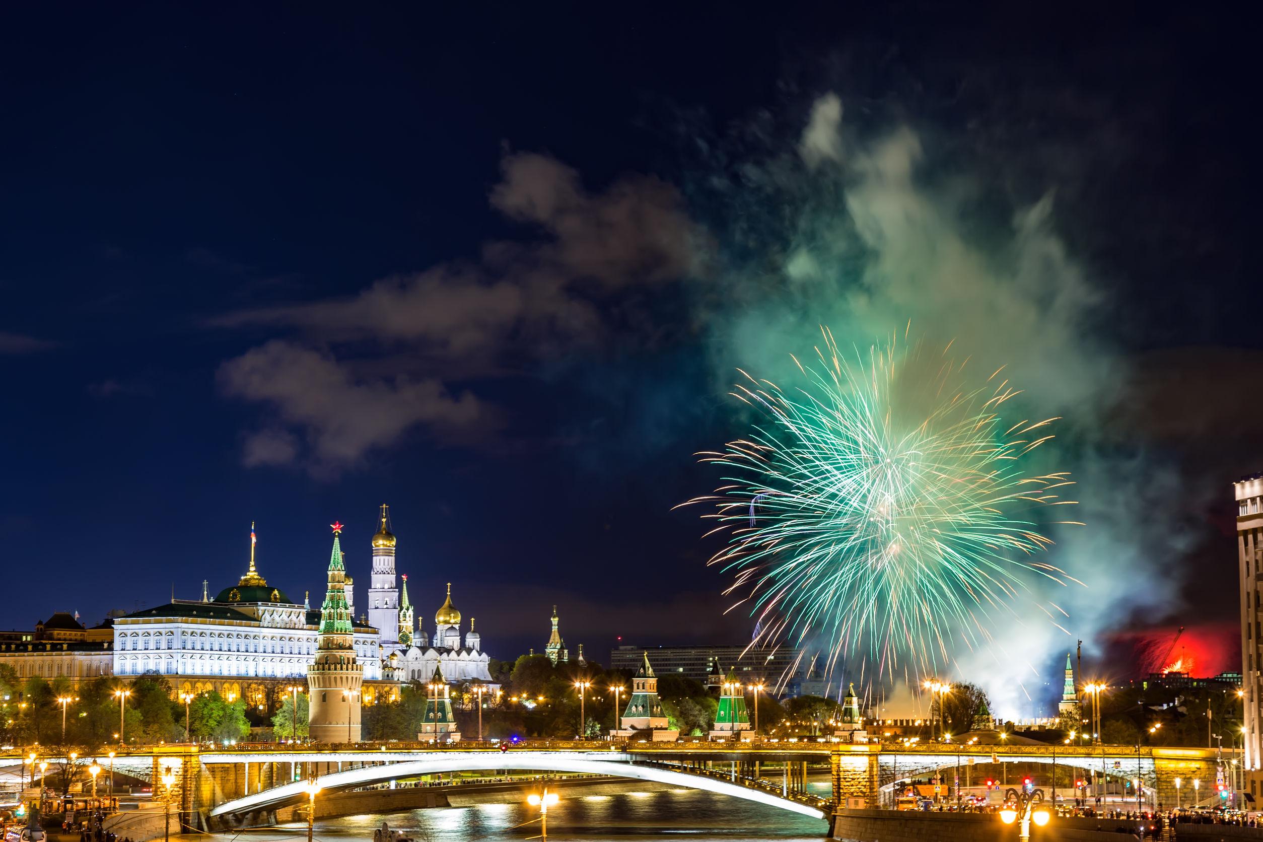 Где в Москве посмотреть салют в честь 9 мая