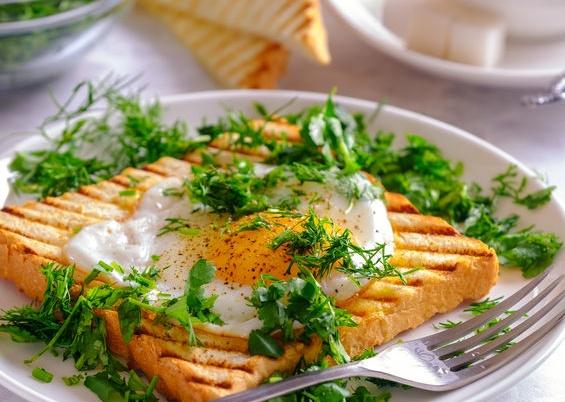 Бутерброд-яичница