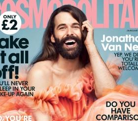 Обложку Cosmopolitan украсит мужчина впервые за 35 лет