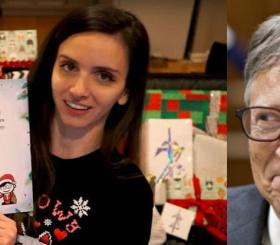 Билл Гейтс подарил 37 килограммов подарков пользовательнице Reddit