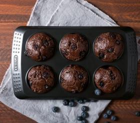 Рецепт дня: шоколадные маффины