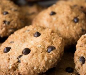 Рецепт дня: овсяное печенье с шоколадной крошкой