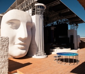 Новые арт-объекты на молодёжном форуме «Таврида»