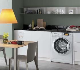 Стиральная машинка на кухне: за или против?