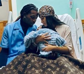 Карди Би стала мамой во второй раз