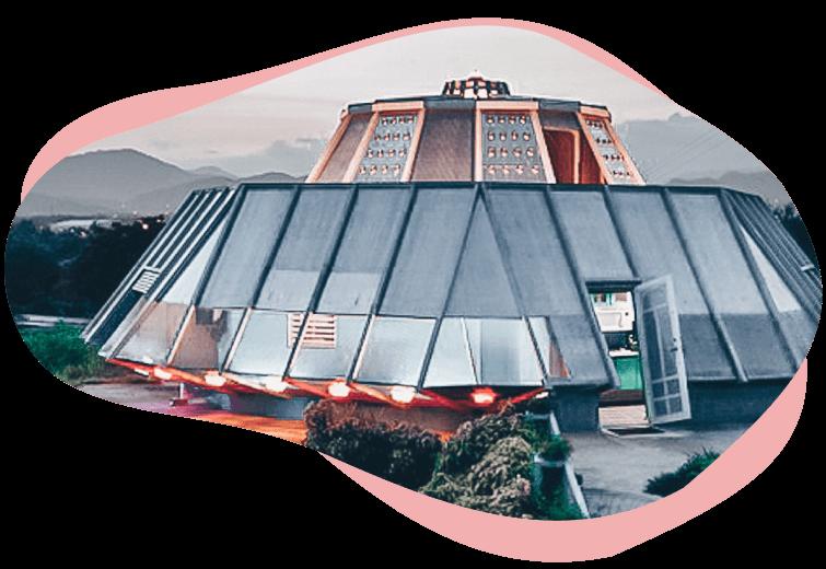 Дом НЛО
